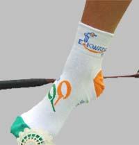 marquage de chaussettes publicitaires